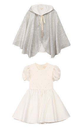 Платье с накидкой | Фото №1