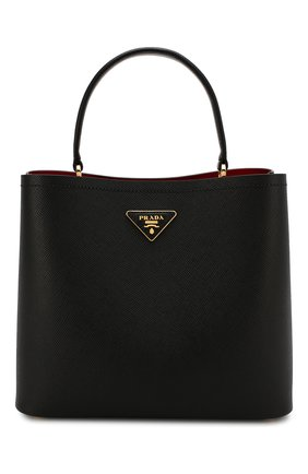 Женская сумка panier  PRADA черного цвета, арт. 1BA211-2ERX-F0LJ4-OOO | Фото 1