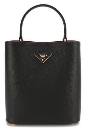 Женская сумка panier  PRADA черного цвета, арт. 1BA212-2ERX-F0LJ4-OOO | Фото 1