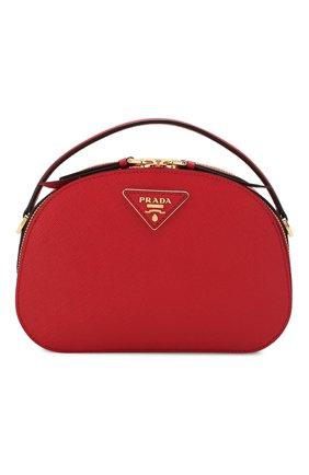 Женская сумка odette PRADA красного цвета, арт. 1BH123-NZV-F068Z-OOO | Фото 1