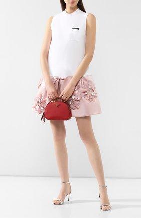Женская сумка odette PRADA красного цвета, арт. 1BH123-NZV-F068Z-OOO | Фото 2