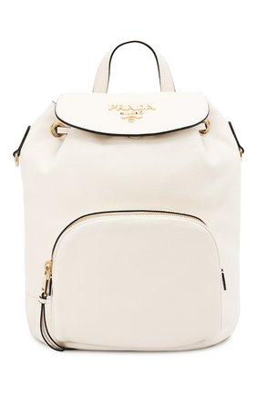 Женский рюкзак PRADA белого цвета, арт. 1BZ035-2BBE-F0YGN-OOO | Фото 1