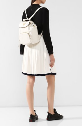 Женский рюкзак PRADA белого цвета, арт. 1BZ035-2BBE-F0YGN-OOO | Фото 2