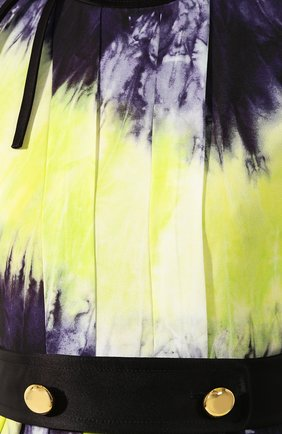 Женское платье с принтом PRADA разноцветного цвета, арт. P38M4-1UI7-F0YPE | Фото 5