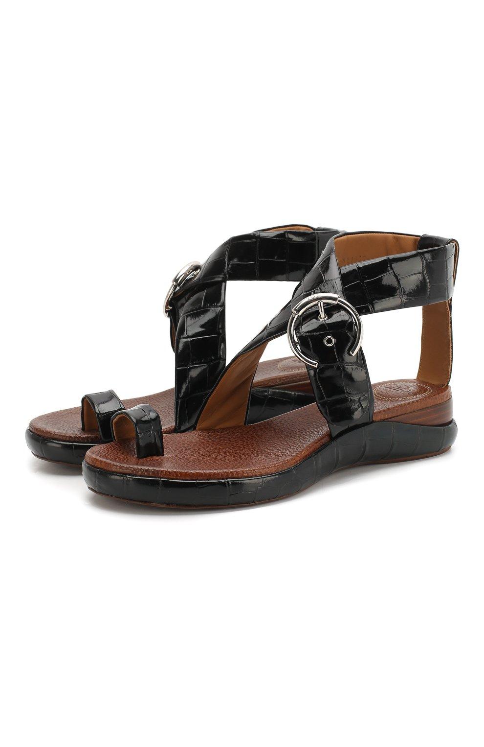 Кожаные сандалии Wave   Фото №1