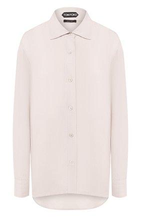 Женская рубашка TOM FORD светло-серого цвета, арт. CA3111-FAX180   Фото 1