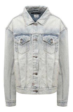Женская джинсовая куртка KSUBI голубого цвета, арт. 5000003501 | Фото 1