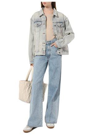 Женская джинсовая куртка KSUBI голубого цвета, арт. 5000003501 | Фото 2