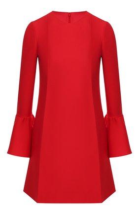 Платье из смеси шерсти и шелка | Фото №1