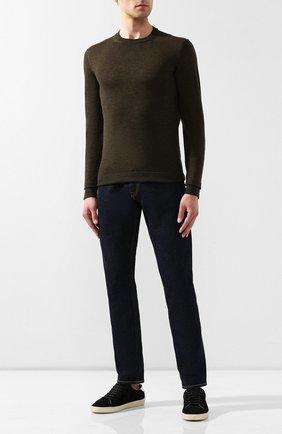 Мужские джинсы RALPH LAUREN темно-синего цвета, арт. 790563748 | Фото 2