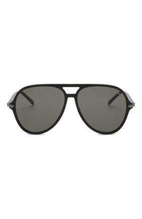 Мужские солнцезащитные очки BRIONI черного цвета, арт. 0DA000/P3ZAC | Фото 2