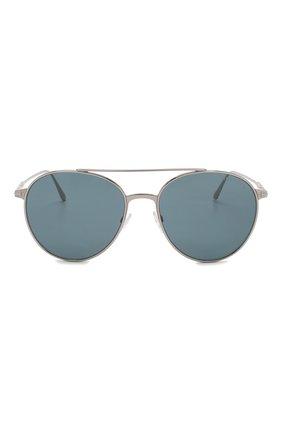 Мужские солнцезащитные очки TOM FORD серебряного цвета, арт. TF691 | Фото 2