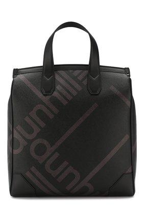Мужская текстильная сумка DUNHILL черного цвета, арт. DU19R3870SC | Фото 1