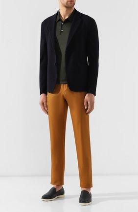 Мужской шерстяной пиджак GIORGIO ARMANI темно-синего цвета, арт. 9SGGG06L/T010C   Фото 2