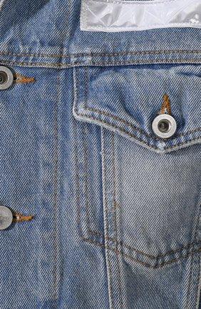 Джинсовая куртка Diesel синяя | Фото №5
