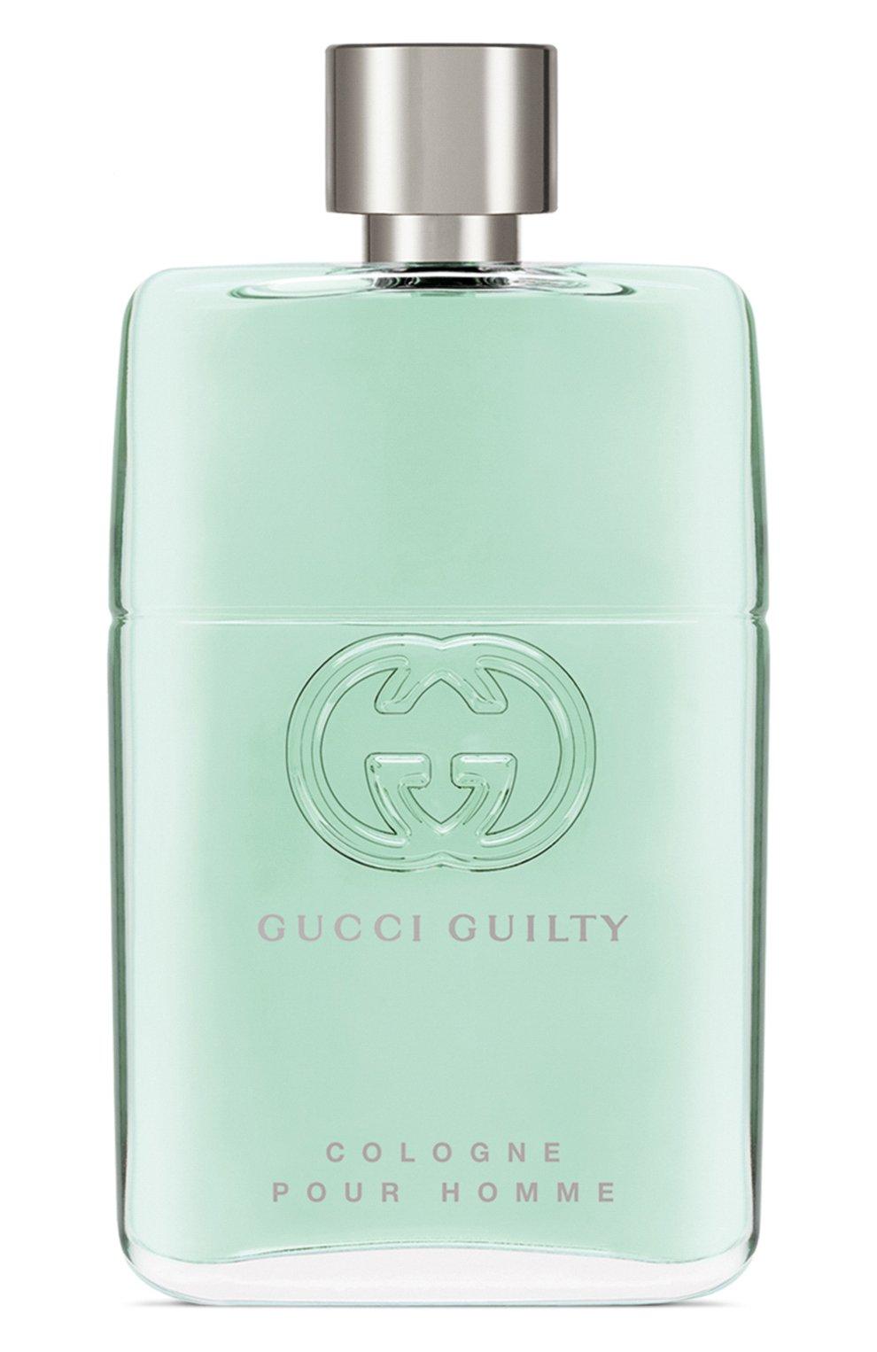 Мужской туалетная вода guilty cologne (90ml) GUCCI бесцветного цвета, арт. 3614227912076   Фото 1 (Статус проверки: Проверена категория; Ограничения доставки: flammable)