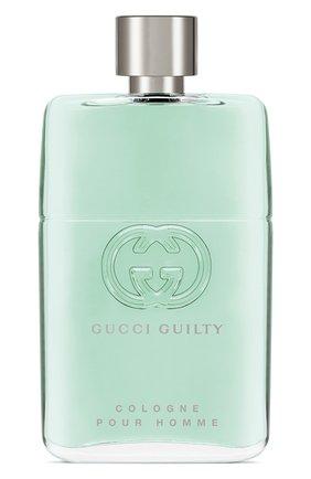 Мужской туалетная вода guilty cologne GUCCI бесцветного цвета, арт. 3614227912076 | Фото 1