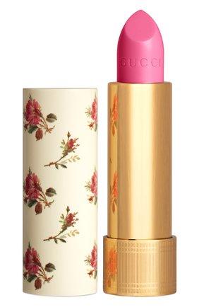 Женская увлажняющая помада с сиянием, 406 millicent rose GUCCI бесцветного цвета, арт. 3614227749696 | Фото 1