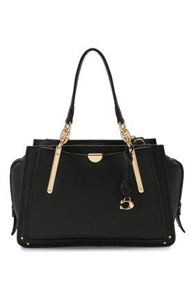Женская сумка dreamer 26 medium COACH черного цвета, арт. 30947 | Фото 1