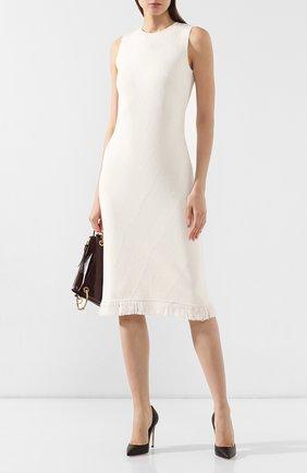 Женские кожаные туфли gianvito 105 GIANVITO ROSSI темно-коричневого цвета, арт. G28470.15RIC.NAPM0KA | Фото 2
