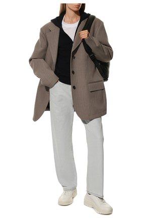 Женские кожаные кроссовки valentino garavani gumboy VALENTINO белого цвета, арт. SW2S0K55/AEQ | Фото 2