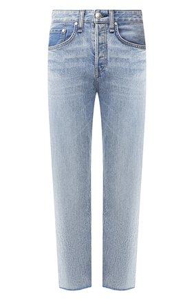 Женские джинсы RAG&BONE голубого цвета, арт. W2645I449IYB   Фото 1