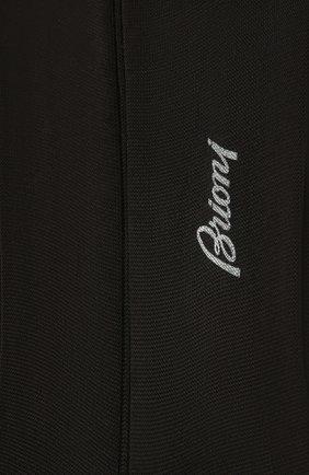 Мужские шелковые гольфы BRIONI черного цвета, арт. 0VML00/P3Z21 | Фото 2 (Материал внешний: Шелк; Статус проверки: Проверена категория, Проверено; Кросс-КТ: бельё)