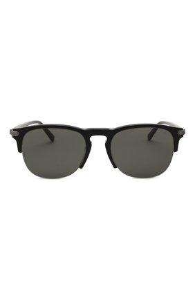 Мужские солнцезащитные очки BRIONI черного цвета, арт. 0DA200/P3ZAC   Фото 2