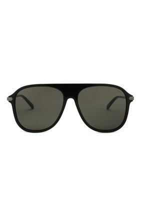 Мужские солнцезащитные очки BRIONI черного цвета, арт. 0DA100/P3ZAC | Фото 2