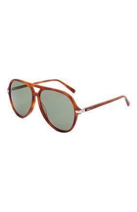 Мужские солнцезащитные очки BRIONI коричневого цвета, арт. 0DA000/P3ZAC | Фото 1
