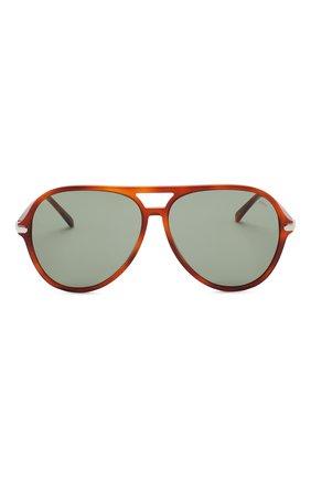 Мужские солнцезащитные очки BRIONI коричневого цвета, арт. 0DA000/P3ZAC | Фото 2