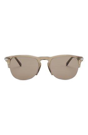 Мужские солнцезащитные очки BRIONI серого цвета, арт. 0DA200/P3ZAC   Фото 2