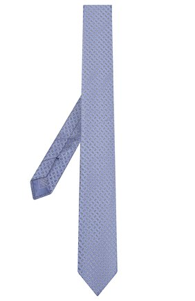 Мужской шелковый галстук BRIONI сиреневого цвета, арт. 061R00/08405 | Фото 2