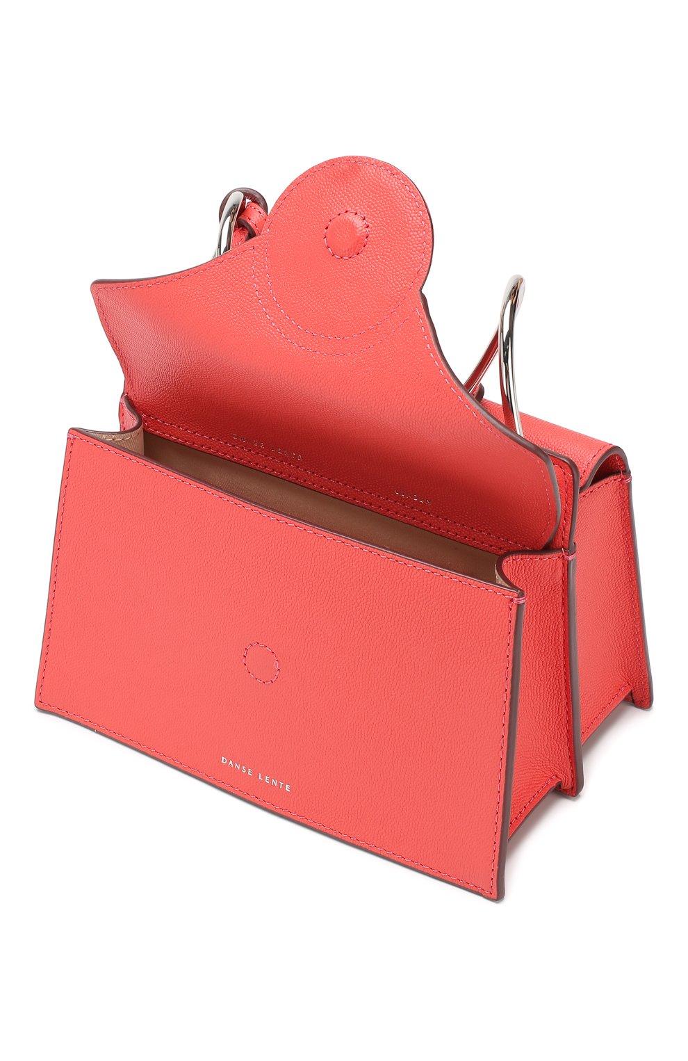 Сумка Phoebe mini Danse Lente розовая цвета | Фото №4