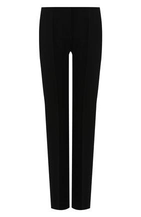 Женские шерстяные брюки GIORGIO ARMANI черного цвета, арт. 9SHPP04Q/T00P8 | Фото 1