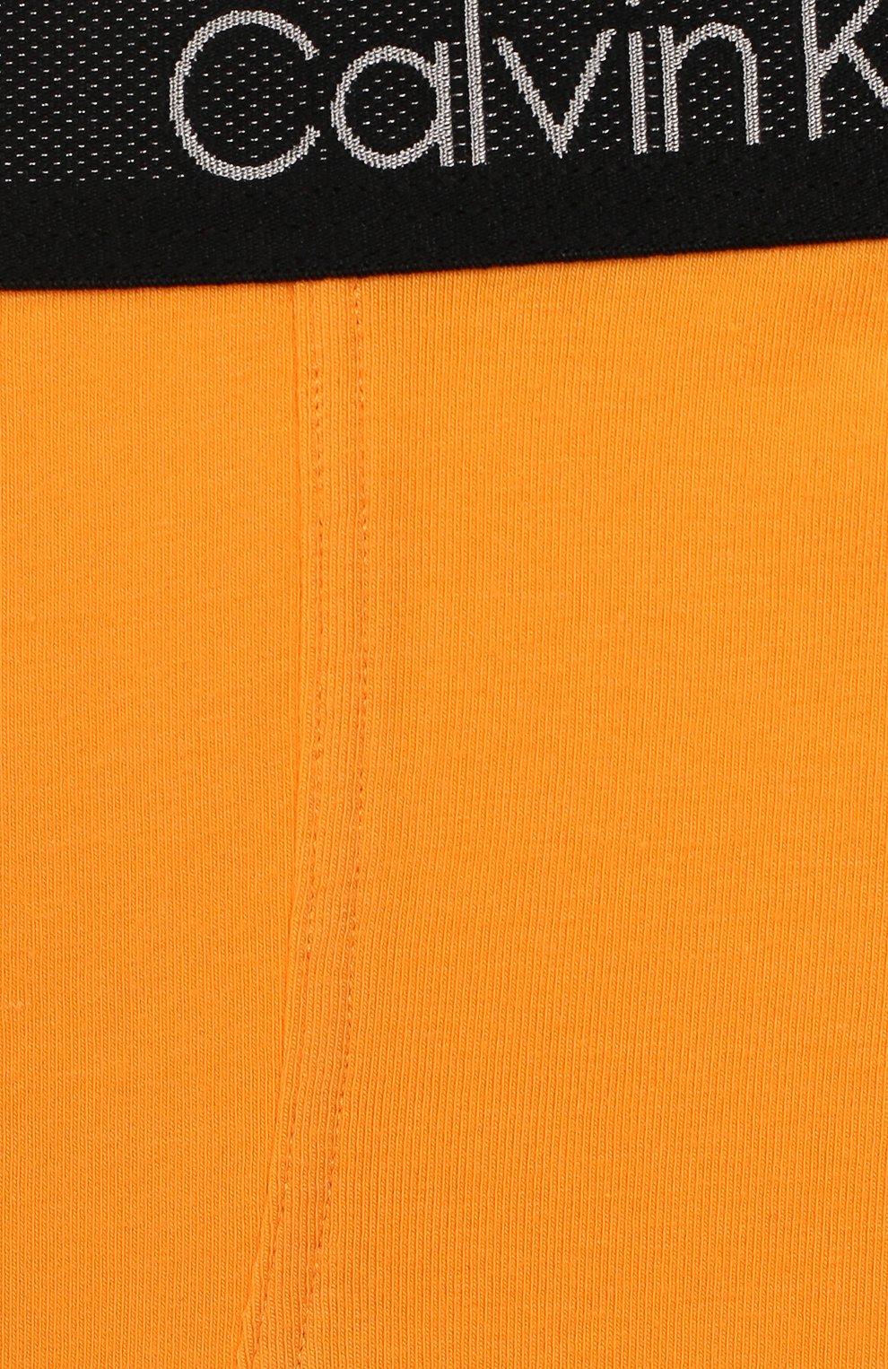 Детские комплект из двух пар трусов CALVIN KLEIN желтого цвета, арт. B70B700198 | Фото 6