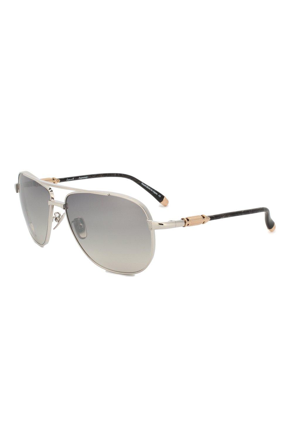 Мужские солнцезащитные очки EQUE.M серебряного цвета, арт. SNIPER/SS-M   Фото 1