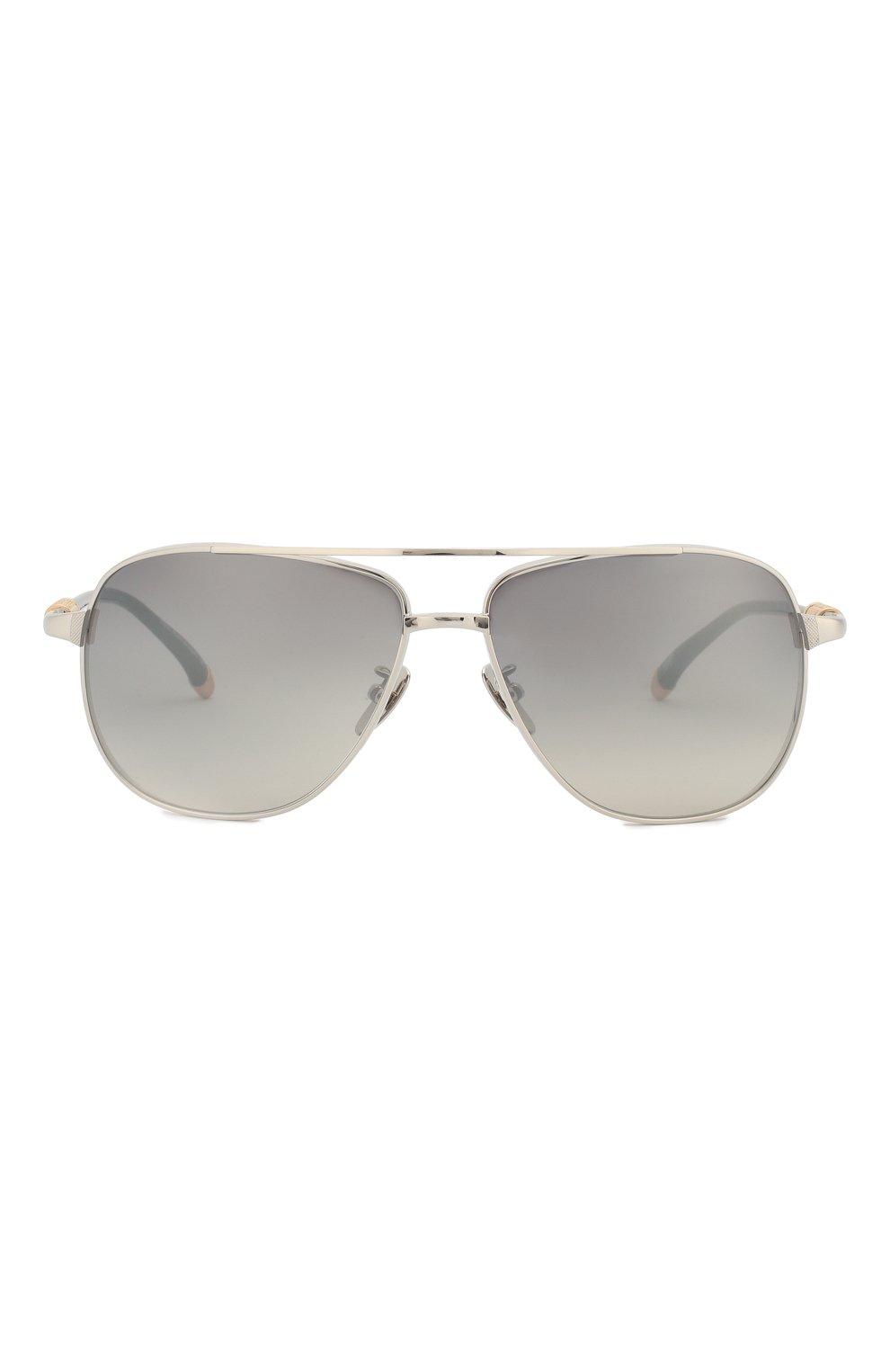 Мужские солнцезащитные очки EQUE.M серебряного цвета, арт. SNIPER/SS-M   Фото 2