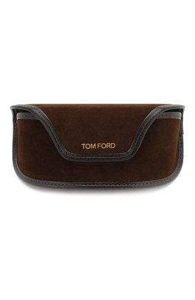 Женские солнцезащитные очки TOM FORD коричневого цвета, арт. TF618 | Фото 5