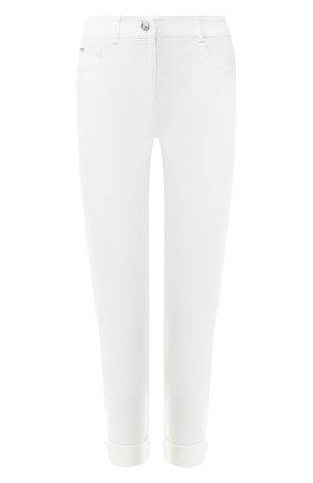 Женские джинсы с отворотами ST. JOHN белого цвета, арт. K88LW10 | Фото 1