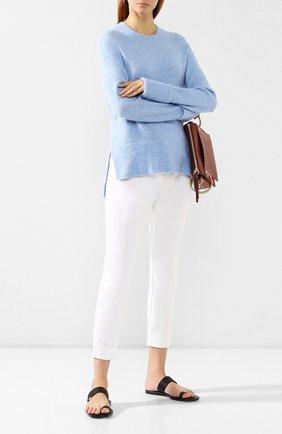 Женские джинсы с отворотами ST. JOHN белого цвета, арт. K88LW10 | Фото 2
