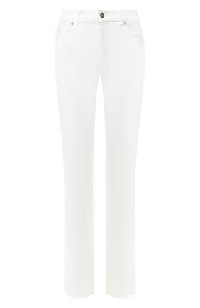 Женские джинсы прямого кроя ESCADA SPORT белого цвета, арт. 5011861 | Фото 1