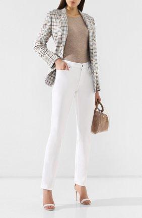 Женские джинсы прямого кроя ESCADA SPORT белого цвета, арт. 5011861 | Фото 2