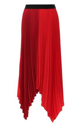 Женская плиссированная юбка ESCADA SPORT красного цвета, арт. 5029979 | Фото 1