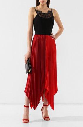 Женская плиссированная юбка ESCADA SPORT красного цвета, арт. 5029979 | Фото 2