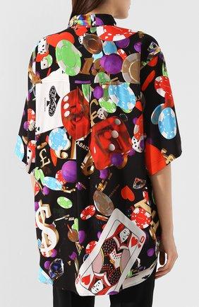Рубашка с принтом | Фото №4