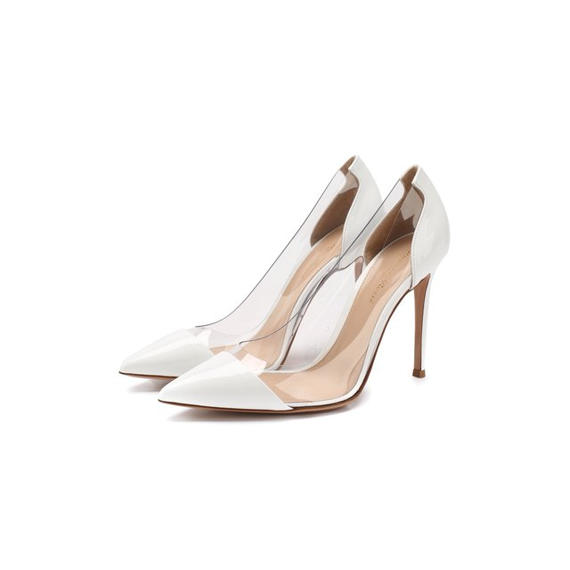 Комбинированные туфли Plexi 105 Gianvito Rossi