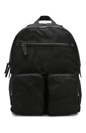 Мужской текстильный рюкзак valentino garavani VALENTINO черного цвета, арт. SY2B0752/NAI | Фото 1