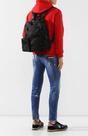 Мужской текстильный рюкзак valentino garavani VALENTINO черного цвета, арт. SY2B0752/NAI | Фото 2