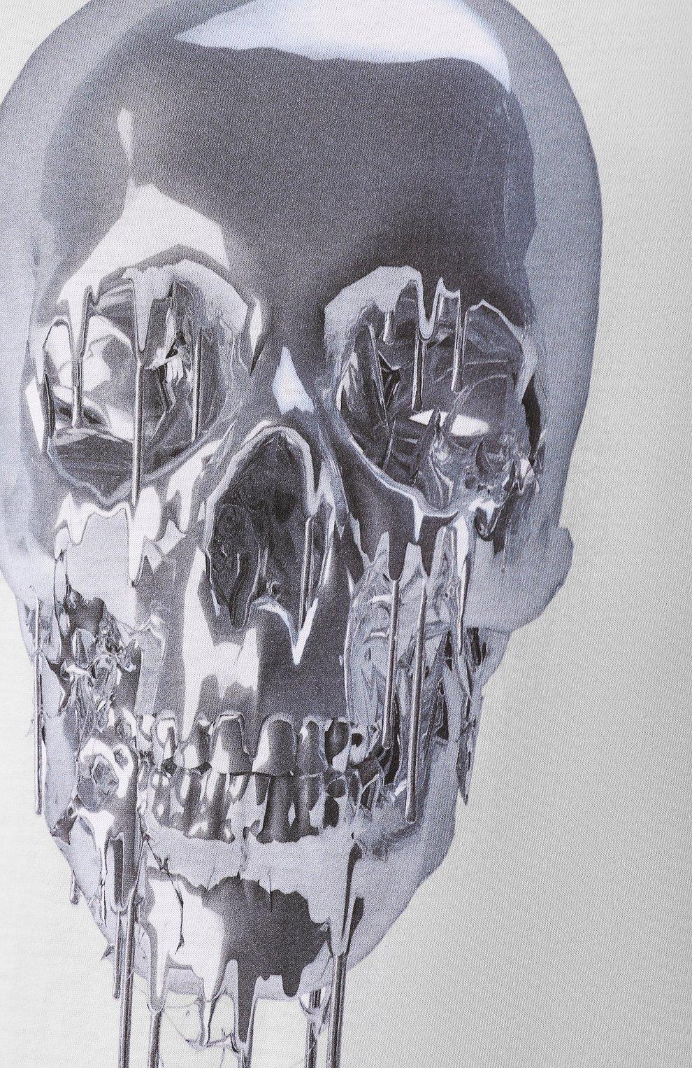 Хлопковая футболка   Фото №5